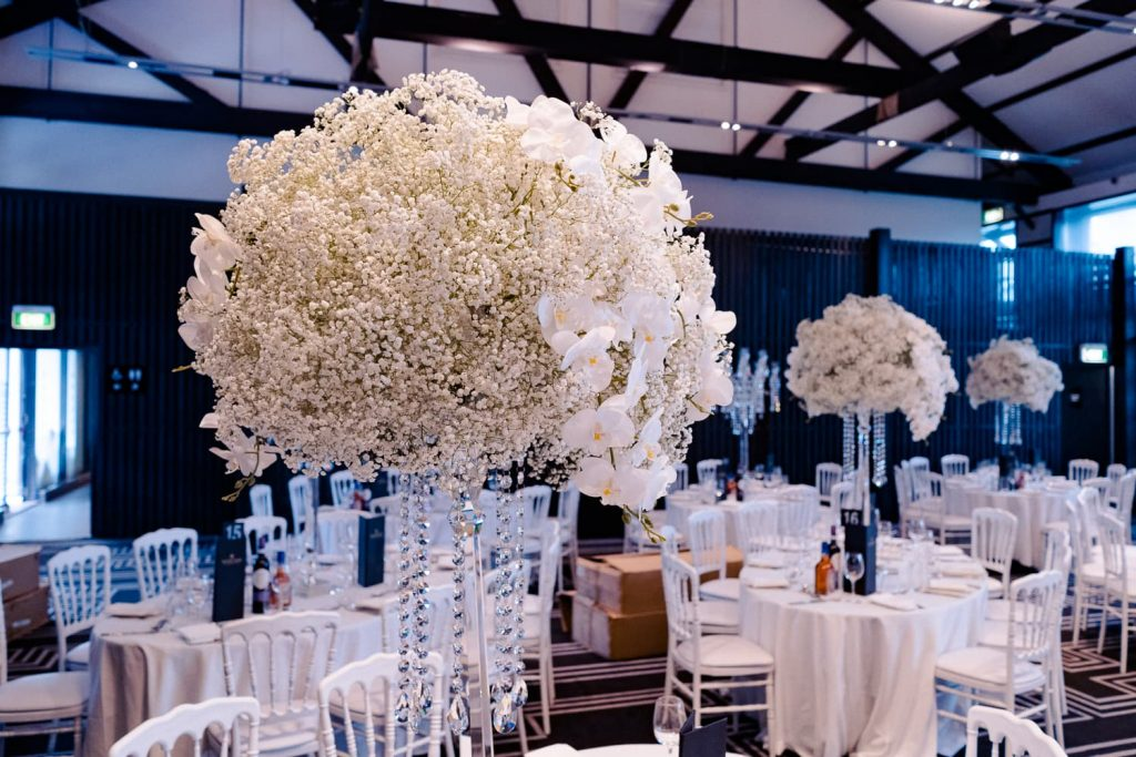 Anna Wang wedding decor